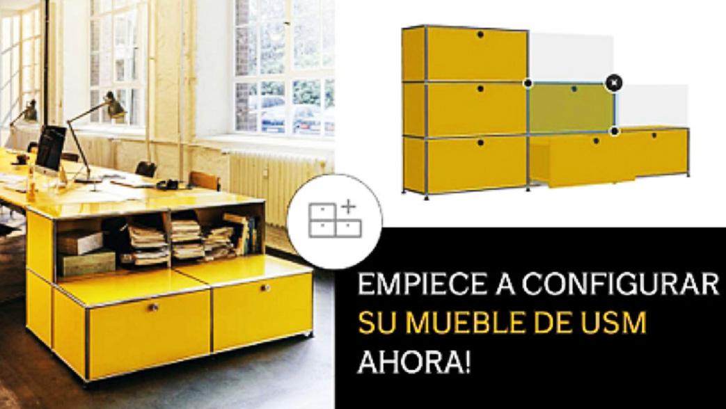 Nuevo configurador de producto usm mobiliario de for Mobiliario de oficina definicion