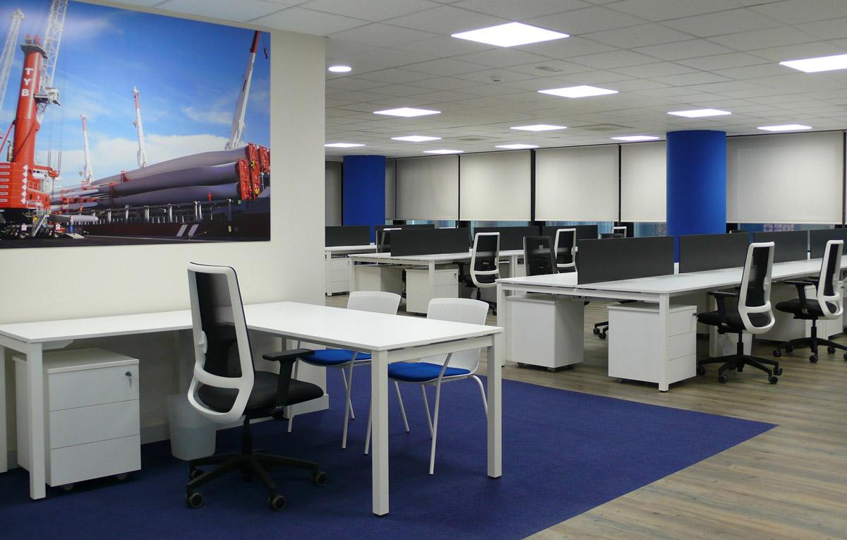 dsv mobiliario de oficina en bilbao proyectos e