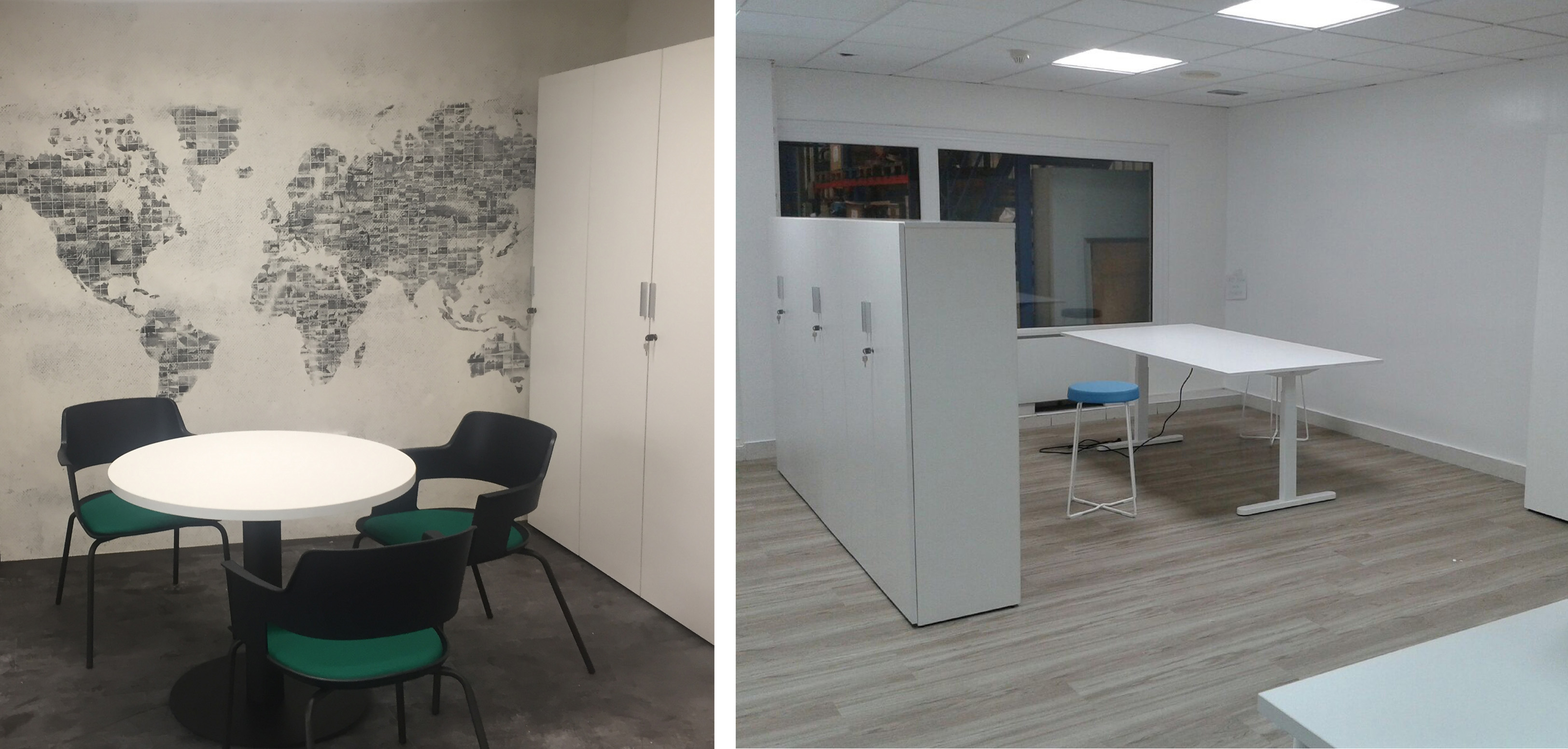 papel london art, espacios reuniones