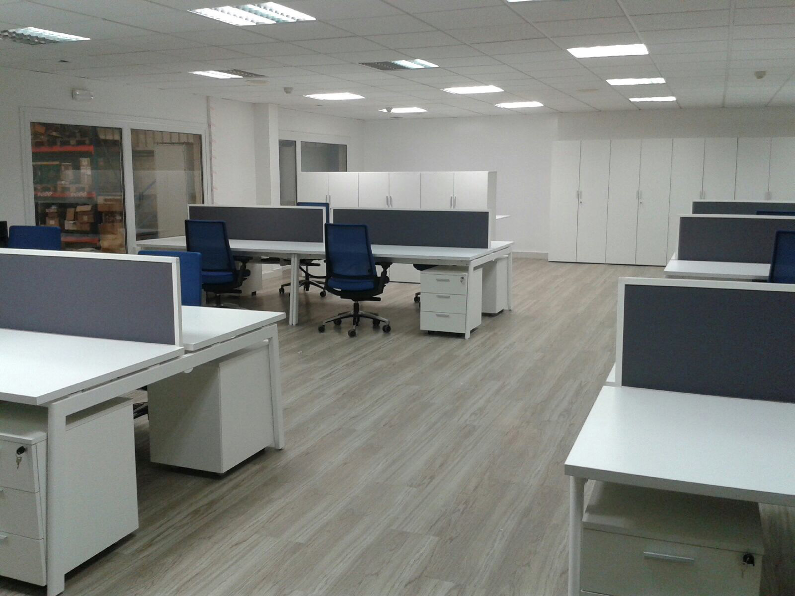 sillleria oficina, mobiliario bilbao, interiorismo oficinas bilbao